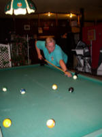 Hannes am Billard